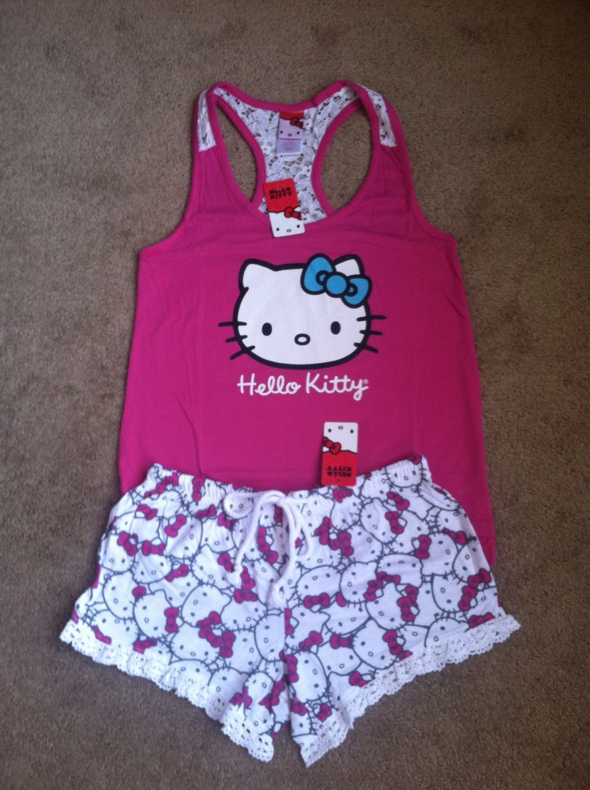 hello kitty pajama set  f5732c09cd