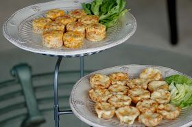 Savoring Time in the Kitchen: Mini Ham and Cheese Frittatas and Baked Vidalia Onion Tartlettes