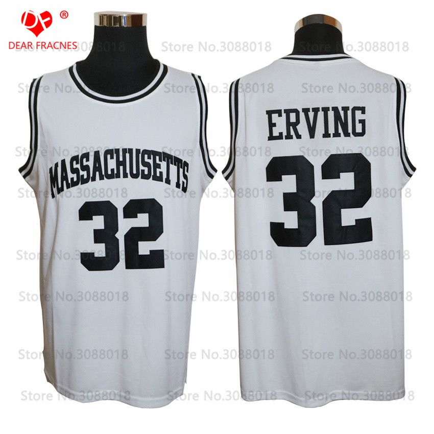 watch f3bc8 5b338 1971 UMASS True School Massachusetts Julius Erving Jersey ...