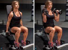 women's summer musclebuilding plan  bodybuilding