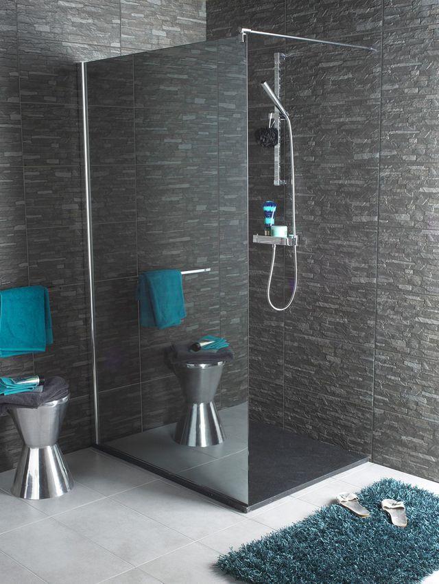 Salle de bain  une douche à dimension Pinterest