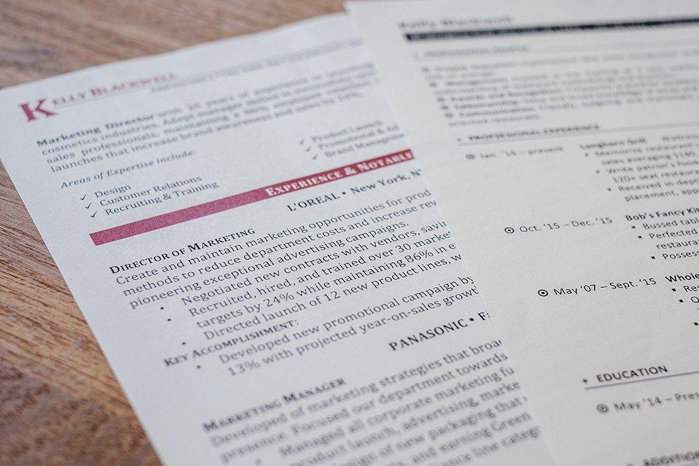 Resume Paper Comparison Resume Genius Best Resume Paper