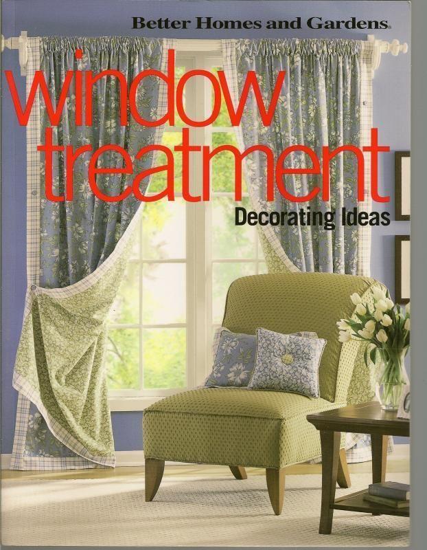 Window Treatment Decorating Ideas Better Homes  Gardens PB 2002