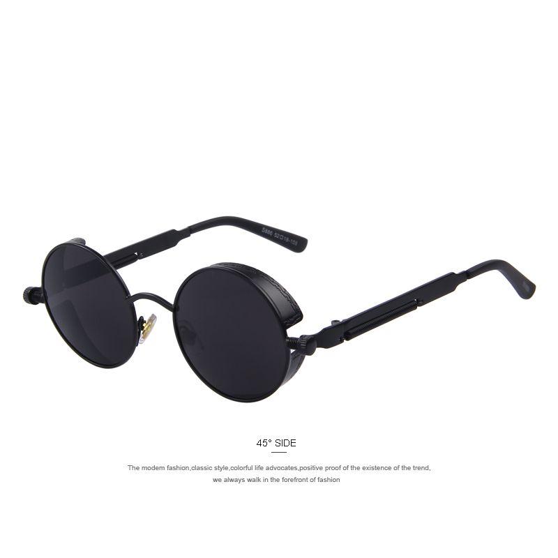 Steampunk Classic Circular Frame Sunglasses