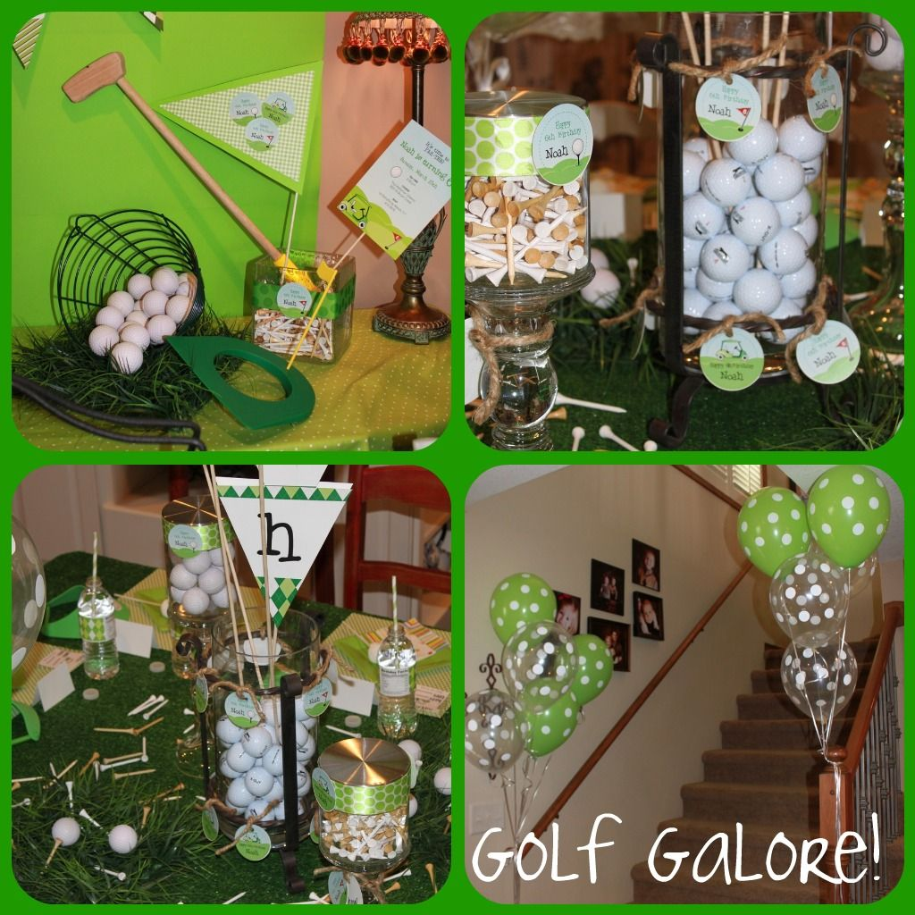 There Was Golf Decor Everywhere