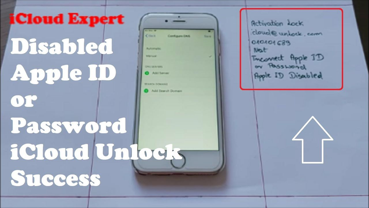 Disabled Apple Id Or Password Icloud Unlock With New Success Method Any Unlock Iphone Free Icloud Iphone Info
