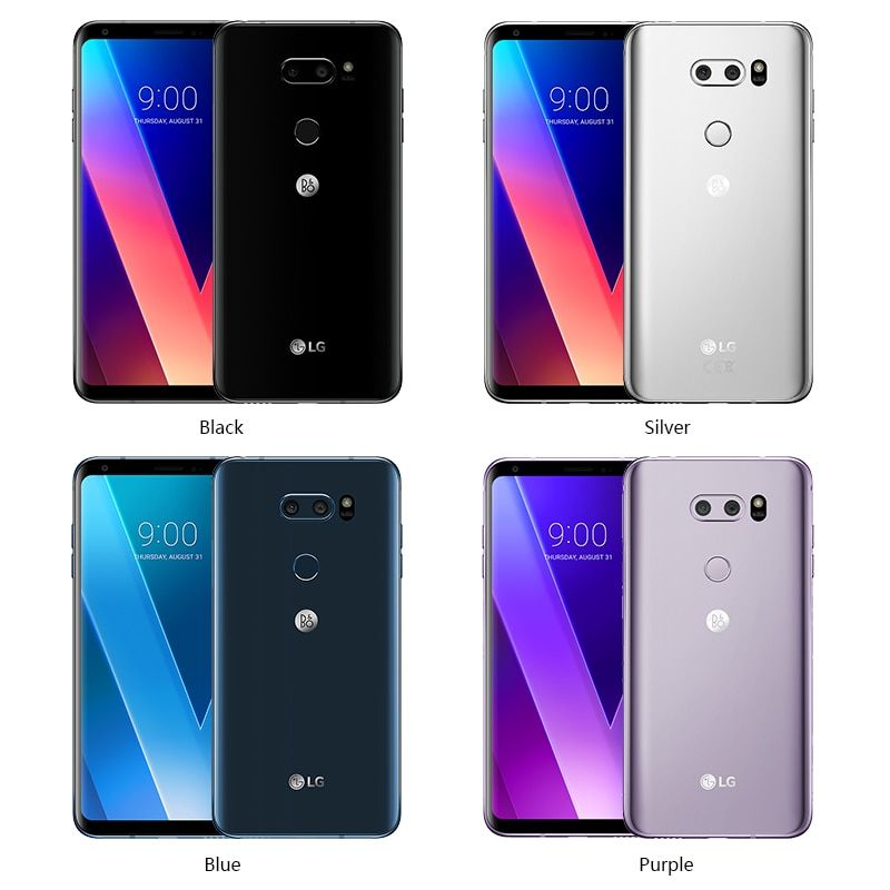 Unlocked LG V30 plus mobile phone V30+ 4GB RAM 128GB ROM