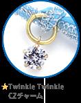 ★Twinkle Twinkle CZチャーム