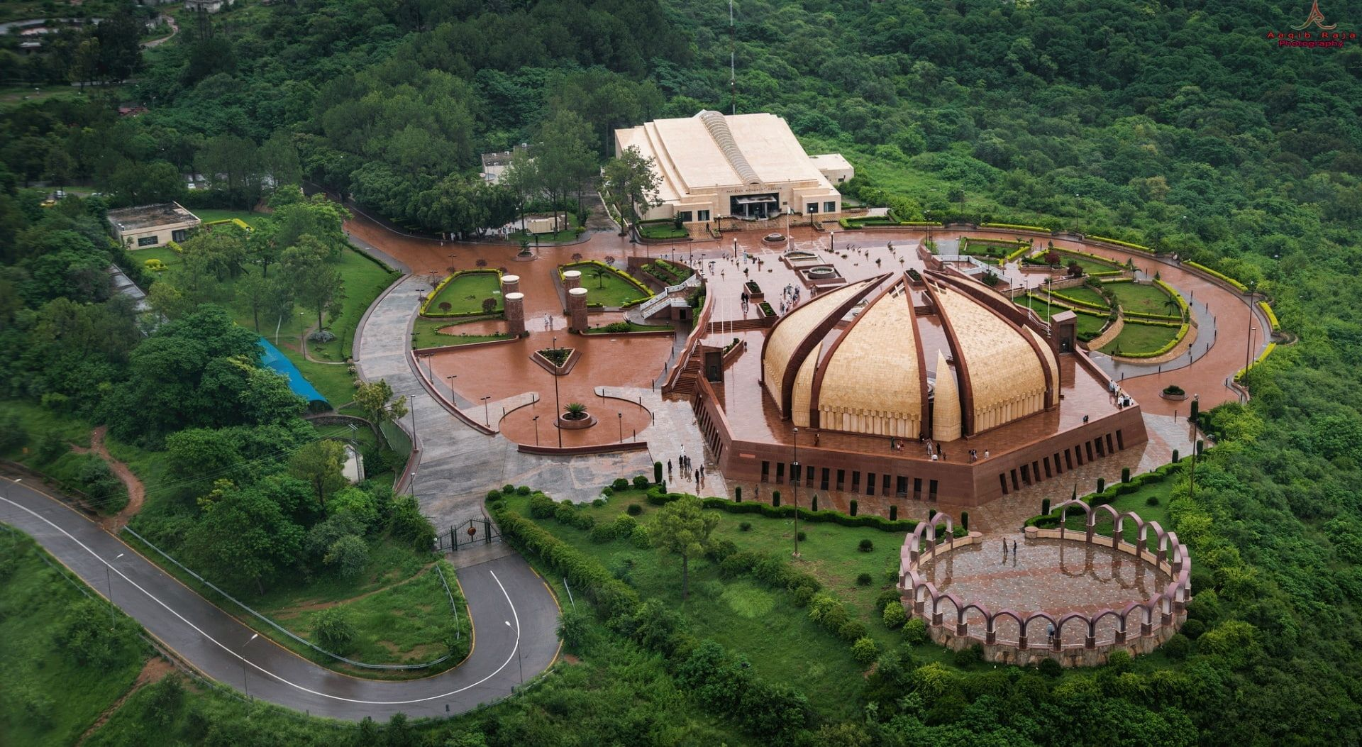 Pakistan Monument Museum Islamabad Aerial Photo Of Castle Asia