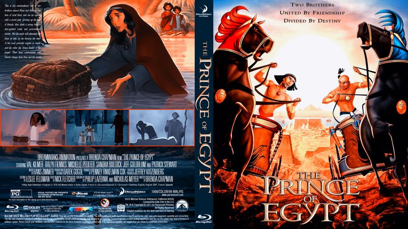 The Prince Of Egypt Blu Ray Custom Cover Prince Of Egypt The Bible Movie Egypt