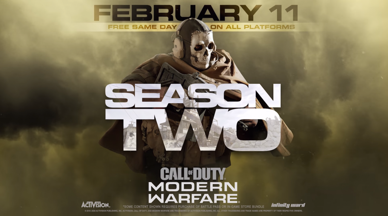 Modern Warfare S Season 2 Ghost Rust Map New Modes And New Guns Modern Warfare Call Of Duty Call Of Duty Warzone