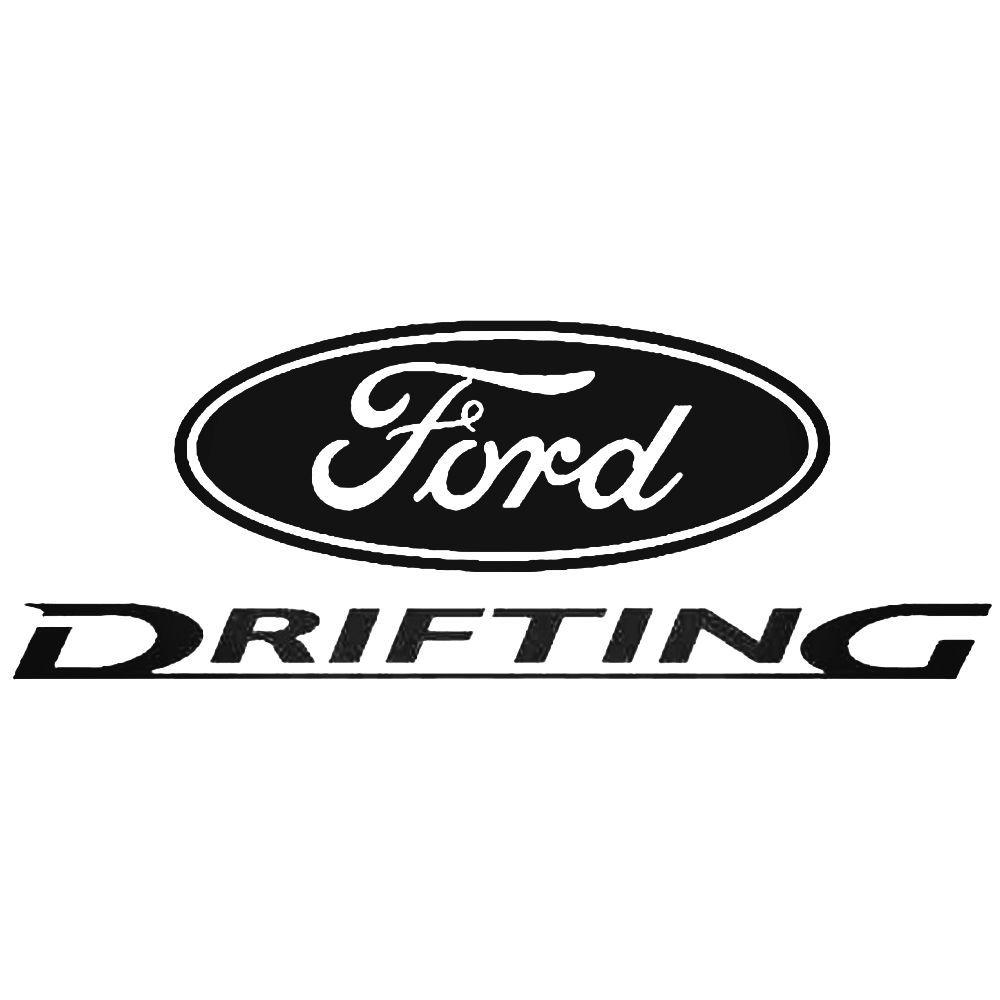Ford Drifting Decal Sticker Ballzbeatz Com Aftermarket Decals