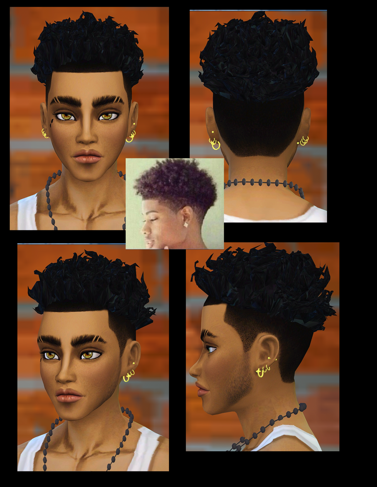Sims 4 Curly Hair Another Curly Hair Requested I Used This Hairstyle By Kiara As A Basick Mesh