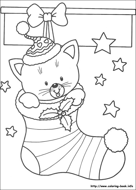 Christmas Coloring Picture Kerstmis Kleurplaten Kleurplaten Kleurplaten Voor Kinderen