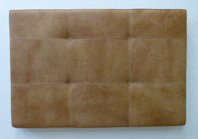 Betten Bettkopfteil Wandpaneel Gepolstert In Leder Ein