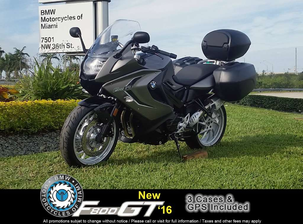 Bmw 2016 F 800 Gt Monolith Metallic Matte Sapphire Black Metallic