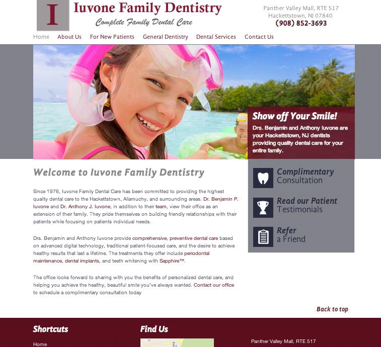 #sesamewebdesign #sds #dental #ravenna #gray #red