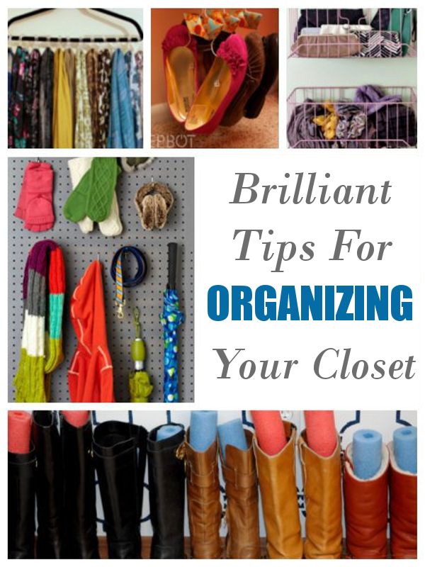 Brilliant Tips For Organizing Your Closet. Now I Can Make More Room To Go  Shopping