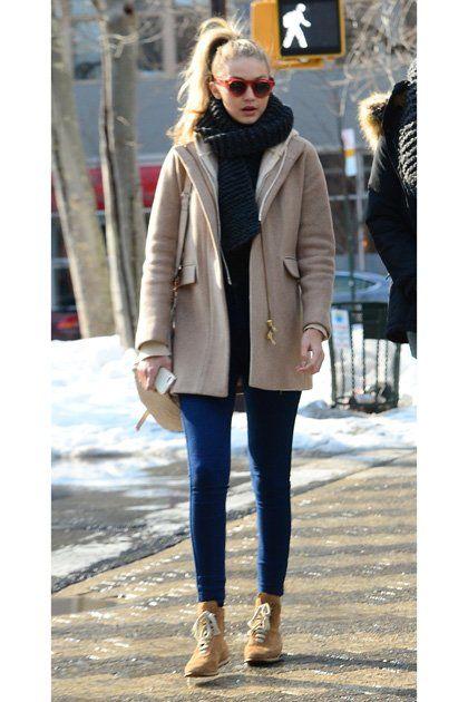 dfb4ef428f0 Gigi Hadid Personal Style Evolution Soho New York City