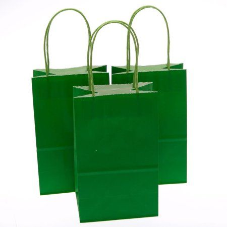 Small green kraft gift bags elis 6th birthday ninjago movie small green kraft gift bags negle Image collections