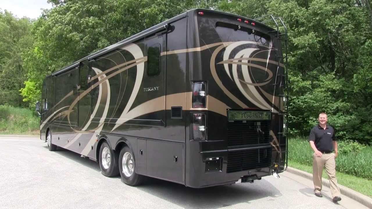 2014 tuscany luxury diesel motorhomes by thor motor coach