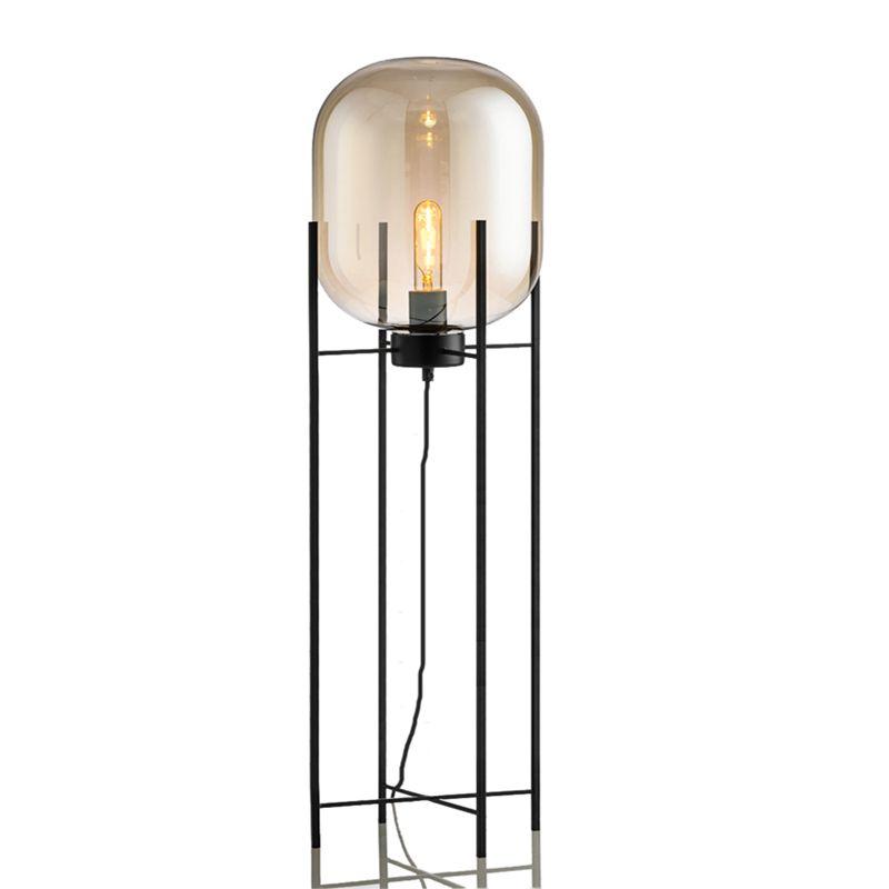 Nordic Post Moderne Einfache Glas Stehleuchten Kreativen Standard