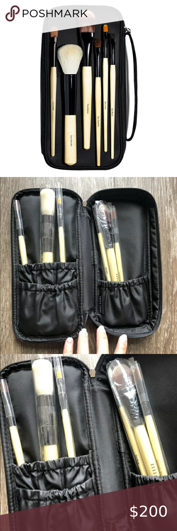 NEW Bobbi Brown Basic Brush 6Piece Collection in 2020