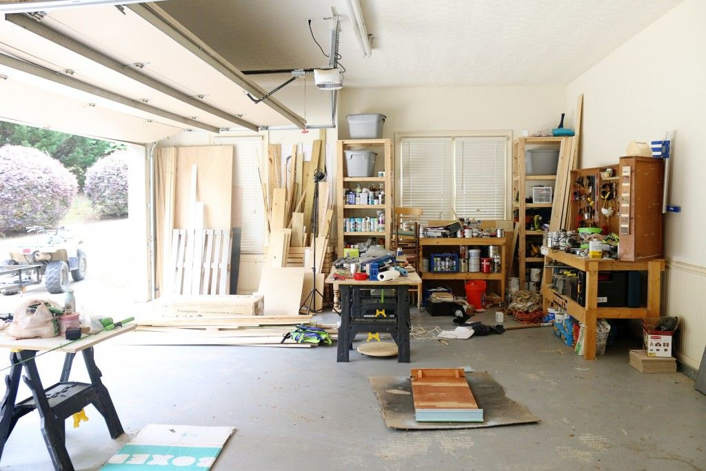 Photo of Garage Workshop & Gym – THE REVEAL – Bower Power