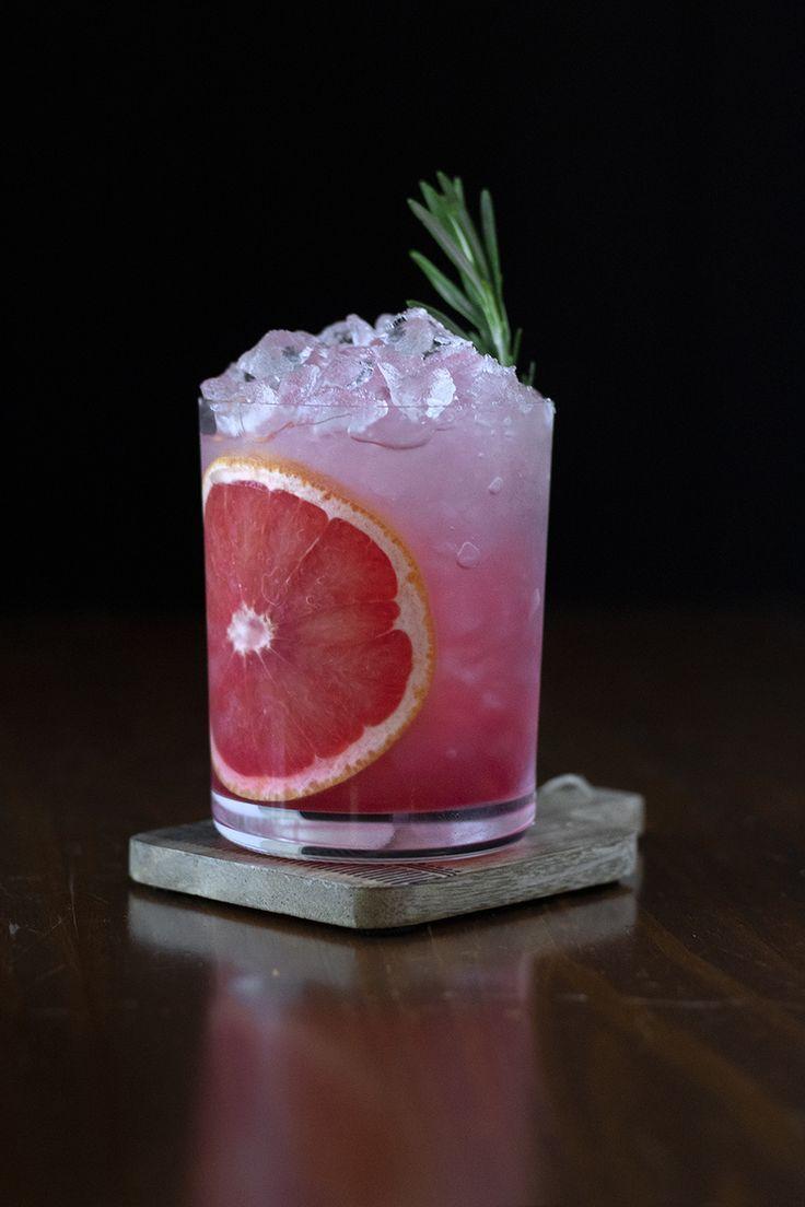 Winter Buddha Bowl + Grapefruit & Pomegranate Sour - Moody Mixologist