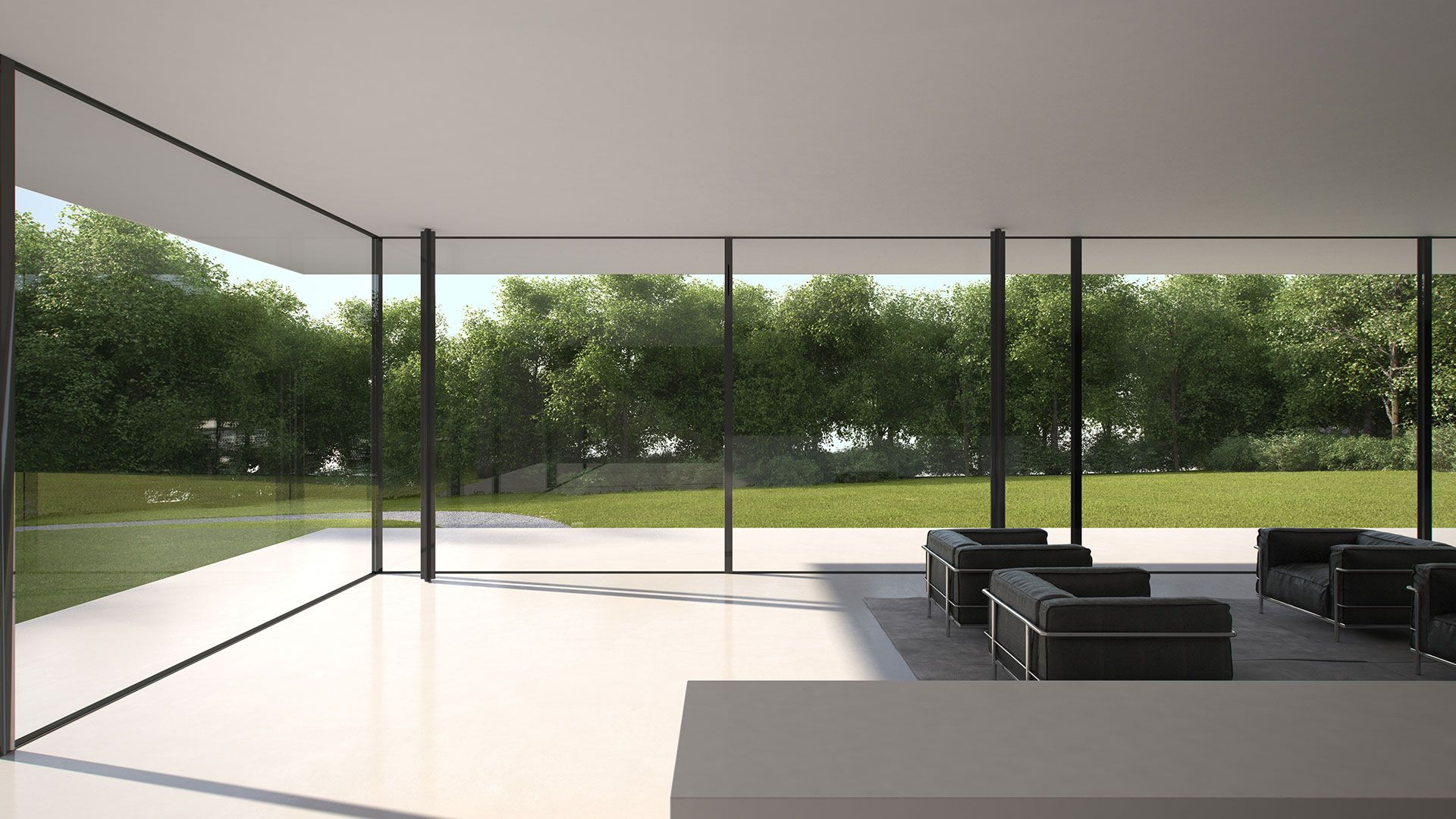Das rahmenlose fenster fassadensystem dicht sicher robust air building stuff - Bodentiefe schiebefenster ...