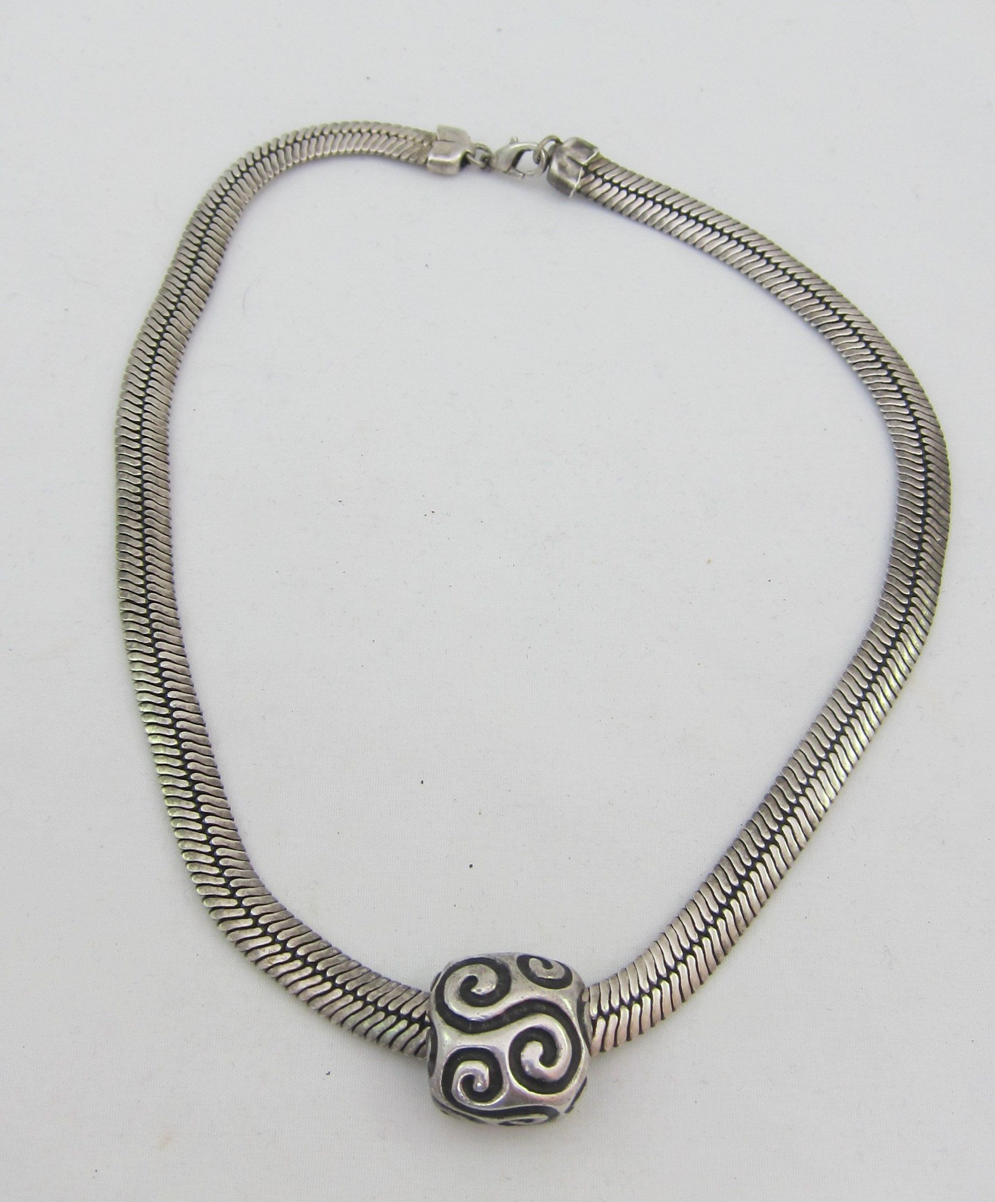 necklace slider pendant silver icing us beaded