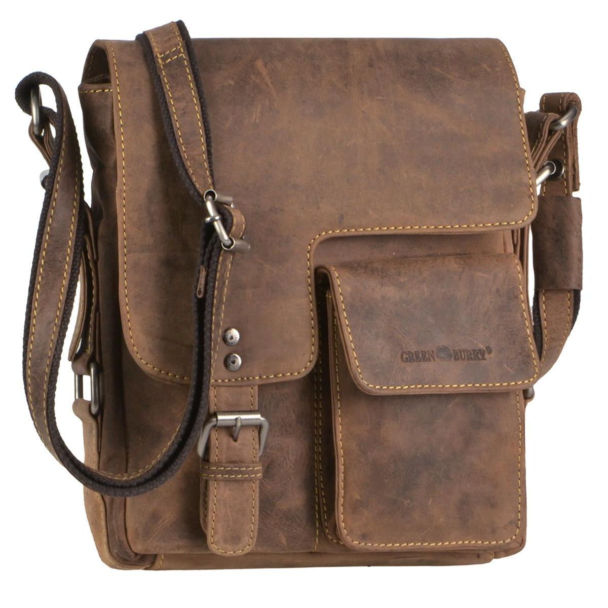 BININBOX Men Shoulder Business Messenger Briefcase Sling Chest Bag Cross Body