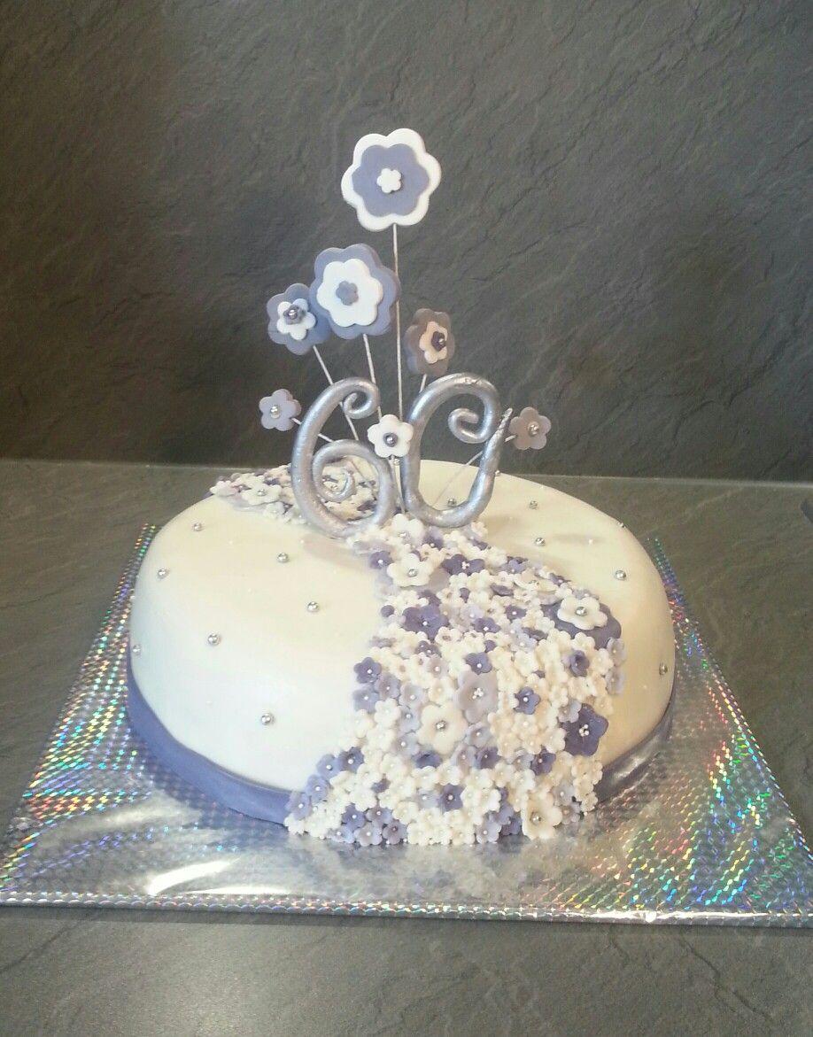 Torte Zum 60 Geburtstag Meine Arbeit Pinterest Cake Fondant