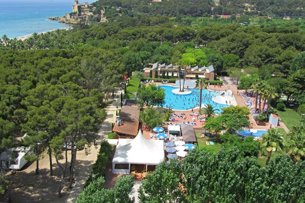 Camping Tamarit Tarragona Costa Daurada Spain Balneario Cataluña España España