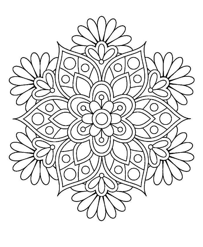 12 Typical Coloring Pages For Adults Mandala Lotus Flower Colors
