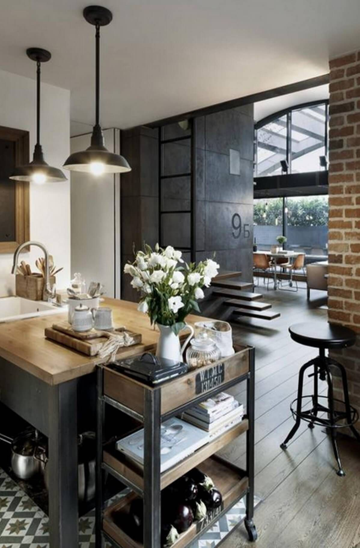 Industrial Home Decor Ideas For Kitchens