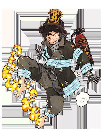 Os Personagens de Fire Force (Enen no Shouboutai)