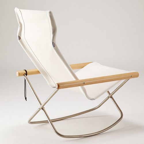 Ny Chair X Rocking White Chair Folding Chair Mid Century Rocking Chair