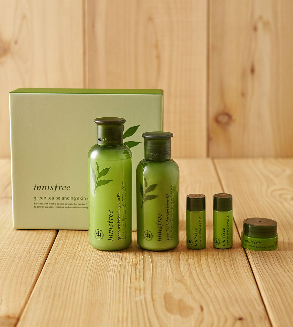 Green Tea Balancing Skin Care Ex Moisture Care Duo Set For A Well Balanced Healthy Skin Condition With The Refreshing Mo Skincare Set Skin Balancing Green Tea