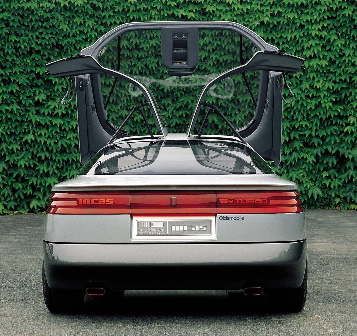 Italdesign Oldsmobile Incas 1986 Oldsmobile Concept Cars Future Car