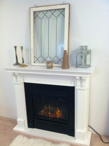 real flame ashley 48 in electric fireplace in white my perfect room electric fireplace. Black Bedroom Furniture Sets. Home Design Ideas