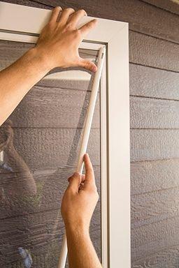 How To Switch Your Fullview Storm Door From Glass To A Screen Panel Storm Door Larson Screen Doors Doors