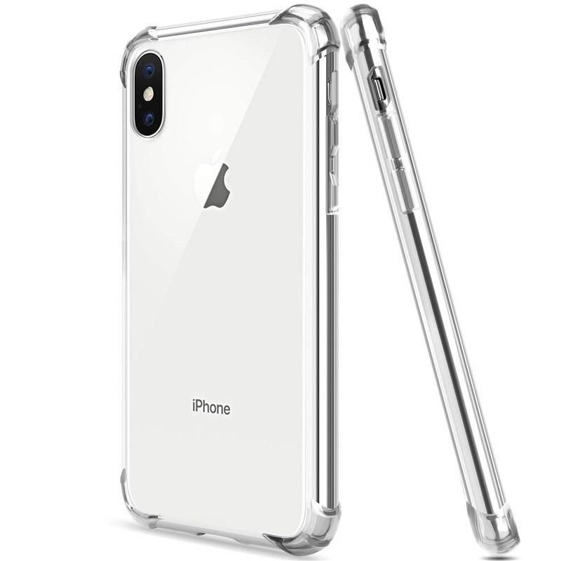 Shockproof Clear Soft Case for iPhone XR X XS Max Silicon Phone Back Cover On For Apple iPhone 6 6S 7 8 Plus SE 2020 11 12 Pro - 8 Plus / Shockproof Case