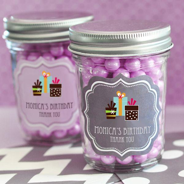 Mason Jar Party Decoration Ideas The Favors Boutique  Birthday Mini Mason Jars  Kid's Birthday