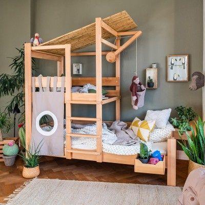 destyle Brunos Baumhausbett Buche massiv #toddlerrooms