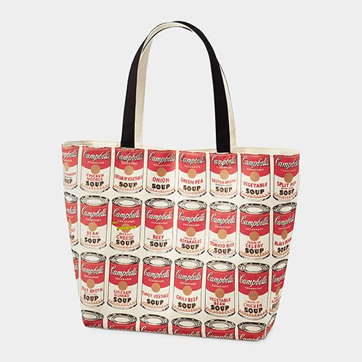 Uniqlo Andy Warhol Soup Can Tote Bag Cheap Canvas Bags Artistic Purse Bags