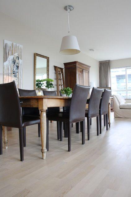Small Eclectic Apartment Interior Design In Amsterdam Farmhouse