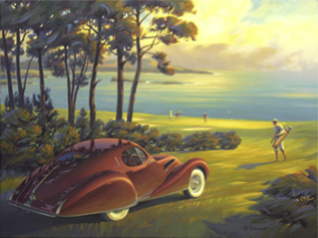 The Art of Kerne Erickson • Retro Realism • Vintage Scenes