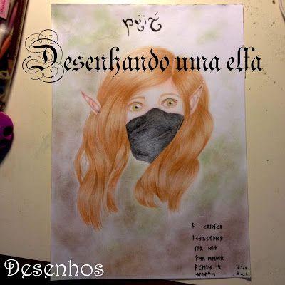 Desenhos das meninas mori: Desenhando uma elfa - Túriel