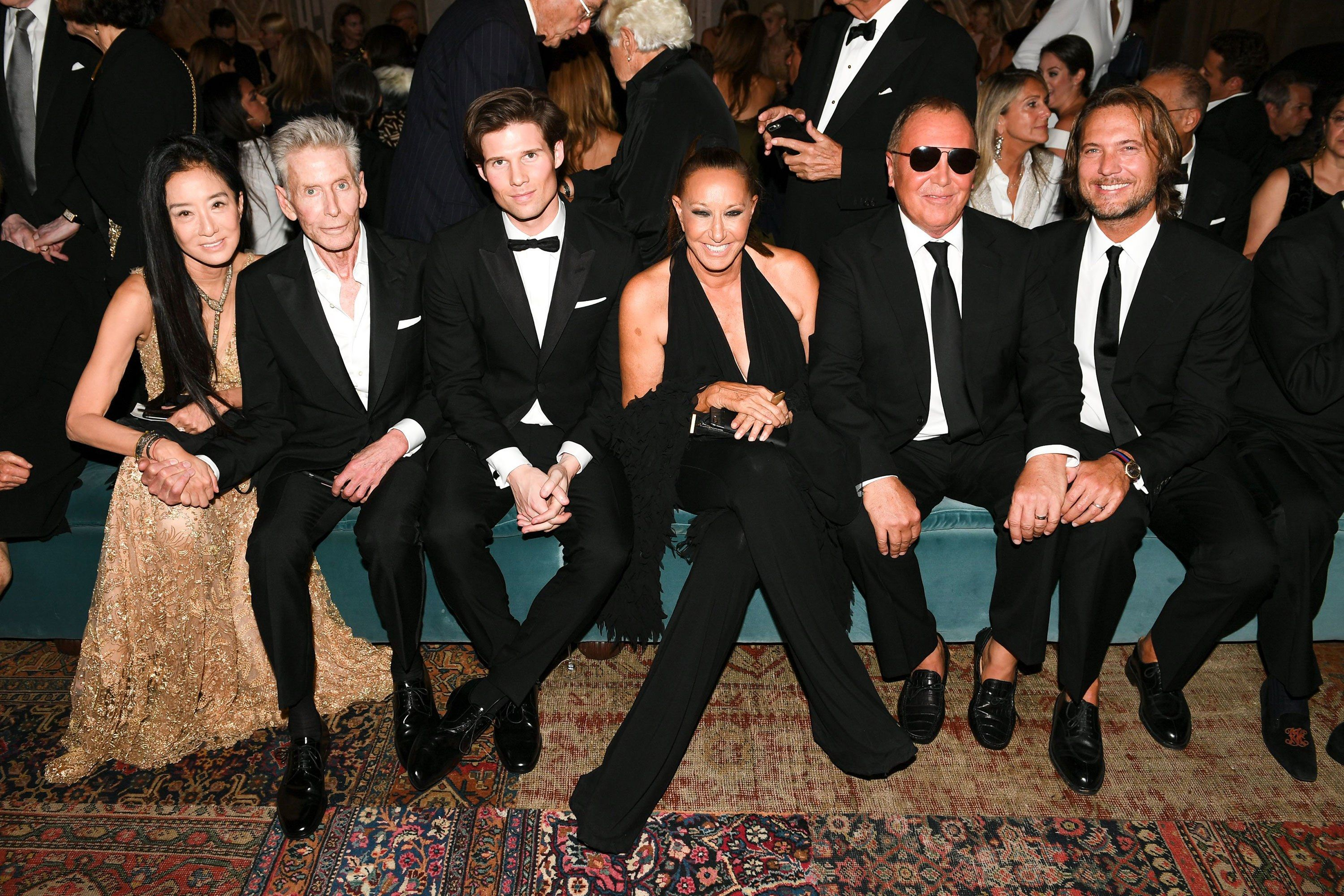 fc10ed53 Hillary Clinton, Kanye West, Oprah Winfrey, and More at Ralph Lauren's 50th  Anniversary Show and Dinner